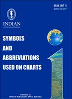 Book INHD: Symbols and abbreviations used on charts