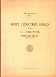 Book NGA: Sight Reduction Tables for Air Navigation (HO249)